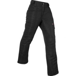 Spodnie termoaktywne, długie bonprix czarny. Spodnie materiałowe damskie marki DOMYOS. Za 129.99 zł.