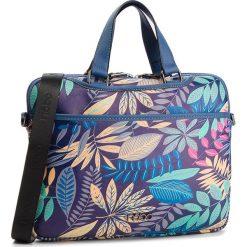 Torba na laptopa NOBO - NBAG-F1590-CM13 Granatowy Z Multi Kwiatami. Niebieskie torby na laptopa damskie Nobo, ze skóry ekologicznej. W wyprzedaży za 149.00 zł.