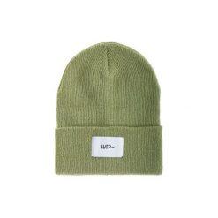 Czapka Beanie Olive (White). Zielone czapki i kapelusze męskie Harp team, z dzianiny. Za 49.00 zł.