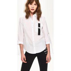 Damskie Koszule Kolekcja Wiosna Białe 2019 Zara lKJ3cTF1