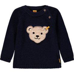 Sweter w kolorze granatowym. Swetry dla chłopców marki Reserved. W wyprzedaży za 147.95 zł.