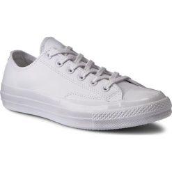 Trampki CONVERSE - Ctas 70 Ox 155455C White/White/Whi. Białe trampki męskie Converse, z gumy. W wyprzedaży za 299.00 zł.