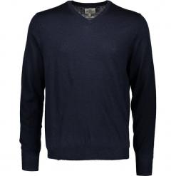 Sweter w kolorze granatowym. Niebieskie swetry przez głowę męskie Ben Sherman, z wełny. W wyprzedaży za 195.95 zł.