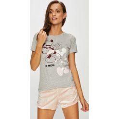 Tally Weijl - Top piżamowy Disney Mickey Mouse. Szare piżamy damskie TALLY WEIJL, z motywem z bajki, z dzianiny. W wyprzedaży za 59.90 zł.