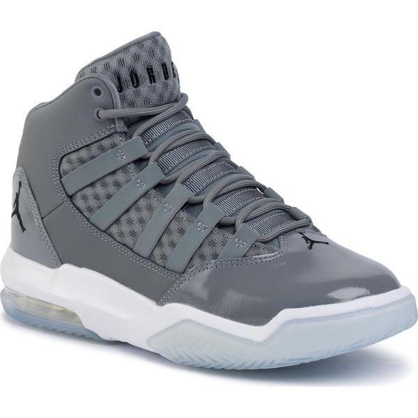 Buty NIKE Jordan Max Aura AQ9214 010 Cool GreyBlackWhite Clear