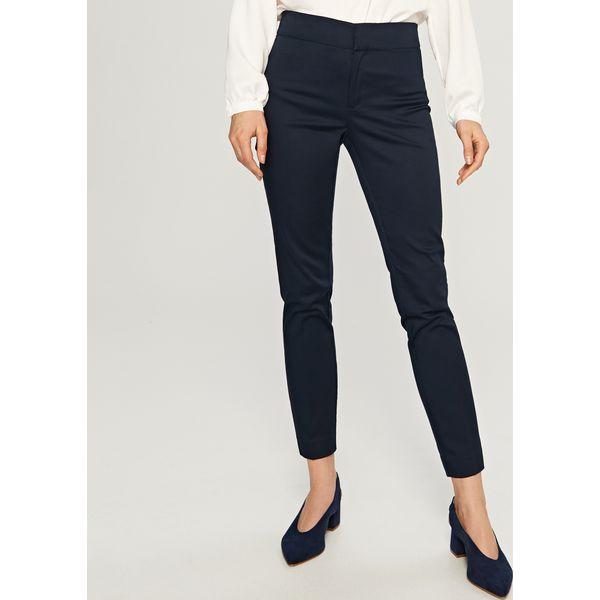 d8078fbcea4930 Spodnie cygaretki - Granatowy - Spodnie materiałowe damskie Reserved ...