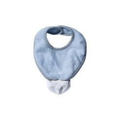 LullaLove SupeRRO Baby Śliniak z gumowym gryzakiem błękit. Niebieskie śliniaki dla dzieci LullaLove, z gumy. Za 53.00 zł.