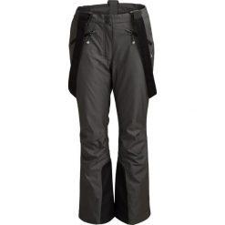 Spodnie narciarskie damskie SPDN602 - ciemny szary melanż - Outhorn. Szare spodnie materiałowe damskie Outhorn, melanż. Za 229.99 zł.
