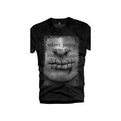 T-shirt UNDERWORLD Organic Cotton Usta. Czarne t-shirty męskie Underworld, z nadrukiem, z bawełny. Za 69.99 zł.