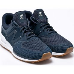 New Balance - Buty MS574EMB. Szare buty sportowe męskie New Balance, z gumy. W wyprzedaży za 399.90 zł.