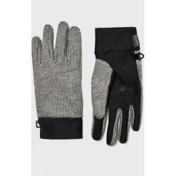 Columbia - Rękawiczki. Szare rękawiczki męskie Columbia, z dzianiny. Za 129.90 zł.