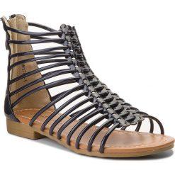 Sandały NELLI BLU - CM1709-1 Granatowy. Sandały dziewczęce Nelli Blu, z materiału. W wyprzedaży za 69.99 zł.