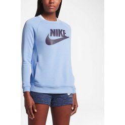 Nike Koszulka damska NSW Modern CRW GX1 niebieska r. XS (842435 450-S). Bluzy damskie Nike. Za 222.35 zł.