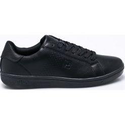 Fila - Buty Crosscourt 2 Low. Czarne buty sportowe męskie Fila, z gumy. Za 219.90 zł.