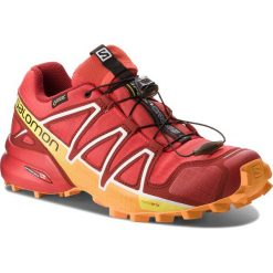 Buty SALOMON - Speedcross 4 Gtx GORE-TEX 400932 27 G0 Fiery Red/Red Dalhia/Bright Marigold. Czerwone buty sportowe męskie Salomon, z gore-texu. W wyprzedaży za 439.00 zł.