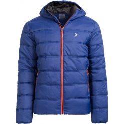Kurtka puchowa męska KUM652 - GRANATOWY - Outhorn. Niebieskie kurtki męskie Outhorn, na jesień, z materiału. W wyprzedaży za 125.99 zł.