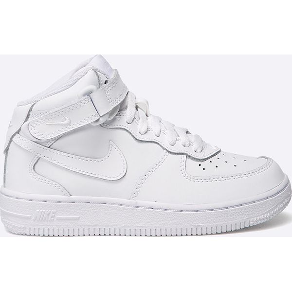 Nike Kids Buty dziecięce AIR FORCE 1 MID GS biały