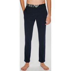 Emporio Armani - Spodnie piżamowe. Szare piżamy męskie Emporio Armani. W wyprzedaży za 219.90 zł.