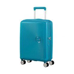 Walizka Spinner 32G74001 SOUNDBOX-55/20 TSA,EXP niebieska (32G-01-001). Walizki męskie Samsonite. Za 356.17 zł.