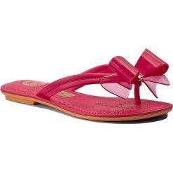 Japonki GRENDHA - Sense Thong Fem 82094 Pink 90175. Czerwone klapki damskie Grendha, z materiału. Za 89.00 zł.