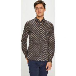 Medicine - Koszula Smart Adventure. Czarne koszule męskie MEDICINE, z bawełny, z klasycznym kołnierzykiem, z długim rękawem. Za 149.90 zł.