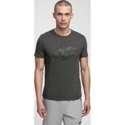 T-shirt męski TSM280 - ciemny szary melanż. T-shirty męskie marki Giacomo Conti. Za 49.99 zł.