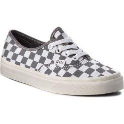 Tenisówki VANS - Authentic VN0A38EMU531 (Checkerboard) Pewter/Mar. Białe trampki męskie Vans, z gumy. W wyprzedaży za 209.00 zł.