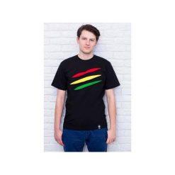 T-shirt #torn rasta. Czarne t-shirty męskie Desert snow, z aplikacjami, z bawełny. Za 69.00 zł.