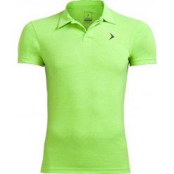 Koszulka polo męska TSM610A - zielony neon - Outhorn. Zielone koszulki polo męskie Outhorn, na lato, z bawełny. W wyprzedaży za 39.99 zł.