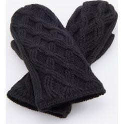 Rękawiczki - Czarny. Czarne rękawiczki damskie Reserved. Za 39.99 zł.