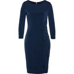 Sukienka shirtowa bonprix ciemnoniebieski. Niebieskie sukienki damskie bonprix, z długim rękawem. Za 129.99 zł.