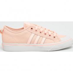Adidas Originals - Buty Nizza. Szare obuwie sportowe damskie adidas Originals, z gumy. W wyprzedaży za 239.90 zł.