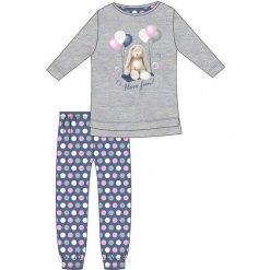 Piżama Kids Girl 780/97 Ballons szara r. 128. Szare bielizna dla dziewczynek Cornette. Za 51.73 zł.