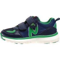 """Sneakersy """"Sport 552"""" w kolorze granatowo-zielonym. Niebieskie trampki i tenisówki chłopięce Naturino, z materiału, sportowe. W wyprzedaży za 172.95 zł."""