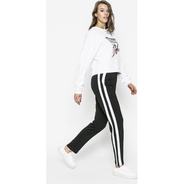 71503ef5f6480 Guess Jeans - Bluza - Szare bluzy damskie marki Guess Jeans