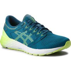 Buty ASICS - RoadHawk FF 2 1011A136 Deep Aqua/Flash Yellow 401. Zielone buty sportowe męskie Asics, z materiału. W wyprzedaży za 349.00 zł.