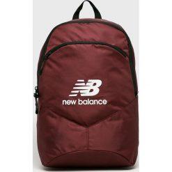 New Balance - Plecak. Brązowe plecaki damskie New Balance, z poliesteru. Za 99.90 zł.