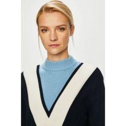 Tommy Hilfiger - Sukienka. Szare sukienki damskie Tommy Hilfiger, z bawełny, casualowe, z długim rękawem. Za 849.90 zł.