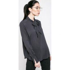 Fresh Made - Bluzka. Czarne bluzki damskie Fresh Made, z materiału, eleganckie. W wyprzedaży za 79.90 zł.