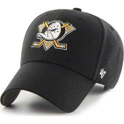 47brand - Czapka Nhl Anaheim Ducks. Czarne czapki i kapelusze męskie 47brand. W wyprzedaży za 59.90 zł.