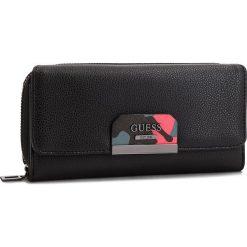 Duży Portfel Damski GUESS - SWBC64 22620  BLA. Czarne portfele damskie Guess, ze skóry ekologicznej. Za 279.00 zł.