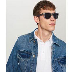 Okulary przeciwsłoneczne - Niebieski. Okulary przeciwsłoneczne damskie marki Reserved. Za 39.99 zł.