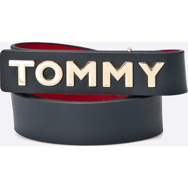e86ef7cab9d 50dbe1f30531 Tommy Hilfiger - Pasek skórzany - Szare paski damskie marki  Tommy ... 32b79181a7a8 Pasek Męski TOMMY HILFIGER - Aimon Belt Eur  BM56913441 990 ...