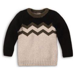 Minoti Sweter Chłopięcy Yay, 92, Beżowy/Czarny. Swetry dla chłopców marki Reserved. Za 75.00 zł.
