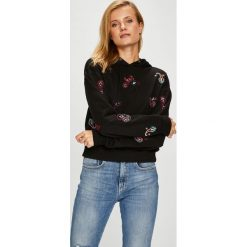 Pinko - Bluza. Szare bluzy damskie Pinko, z aplikacjami, z bawełny. Za 899.90 zł.