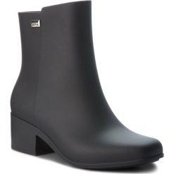 Kalosze ZAXY - Close Boot Ad 17351 Black 90669 BB285045 02064. Czarne kozaki damskie Zaxy, z tworzywa sztucznego. W wyprzedaży za 159.00 zł.