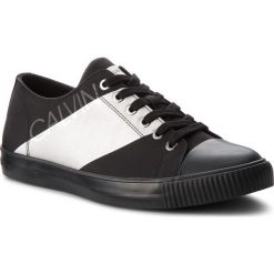 Trampki CALVIN KLEIN JEANS - Antonio SE8590  Black/Silver. Czarne trampki męskie Calvin Klein Jeans, z gumy. Za 519.00 zł.