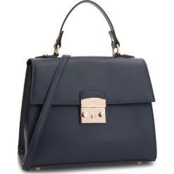 Torebka CREOLE - K10564 Niebieski. Niebieskie torebki do ręki damskie Creole, ze skóry. Za 289.00 zł.