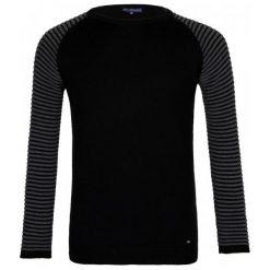 Paul Parker Sweter Męski M Czarny. Czarne swetry przez głowę męskie Paul Parker, w paski. Za 169.00 zł.