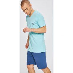 Tom Tailor Denim - Piżama. Szare piżamy męskie Tom Tailor Denim, z denimu. W wyprzedaży za 69.90 zł.